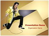 Style Elvis Presley PowerPoint Templates