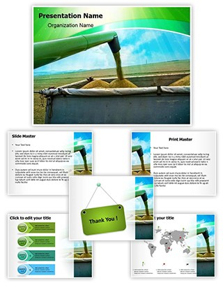 Agricultural Equipments Editable PowerPoint Template