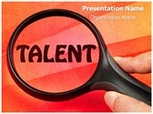 Talent Editable PowerPoint Template