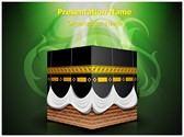 Kaaba Islam Editable PowerPoint Template