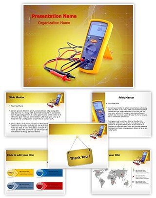 Electrical Testing Tool Editable PowerPoint Template