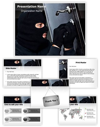 Burglar Editable PowerPoint Template