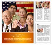 Citizenship Editable Word Template