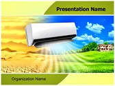 Air Conditioning Editable PowerPoint Template