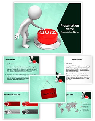 Quiz Editable PowerPoint Template