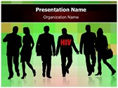 HIV Transmission Editable PowerPoint Template