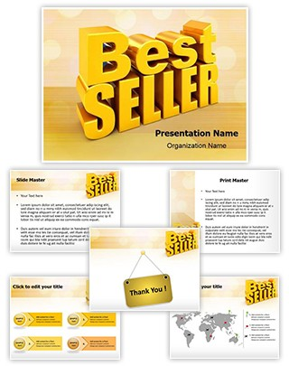 Best Seller Editable PowerPoint Template