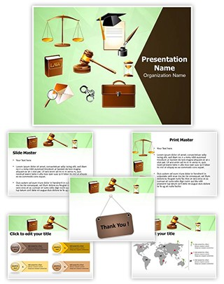 Legislative System and Law Editable PowerPoint Template