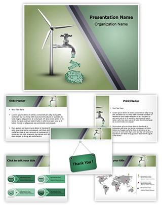 Save Energy Save Money Editable PowerPoint Template