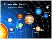Astronomy Solar System Template