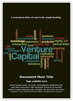 Venture Capital Editable Word Template