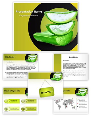 Aloe Vera Editable PowerPoint Template