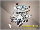 Carburetor Editable PowerPoint Template