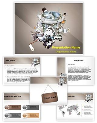 Carburetor Editable PowerPoint Template
