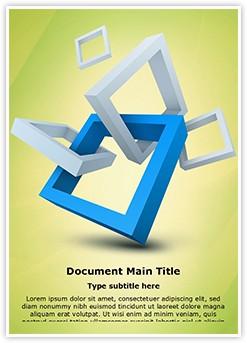 Visual Branding Logo Design Editable Word Template
