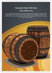 Winery Wine Barrel