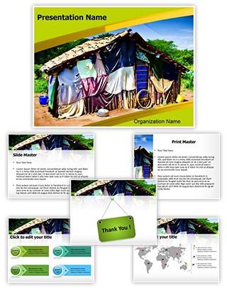 Village Editable PowerPoint Template