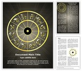 Zodiac Signs Template