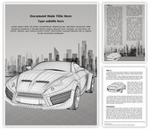 3D Modeling Wireframe Template