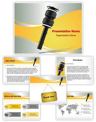 Air Suspension Editable PowerPoint Template