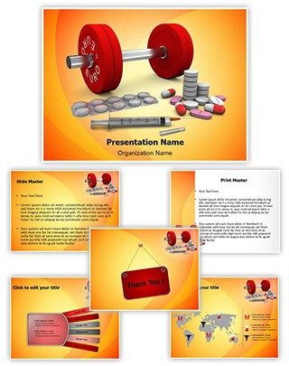 Doping Editable PowerPoint Template