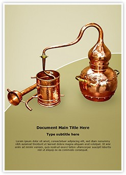 Distillation Editable Word Template