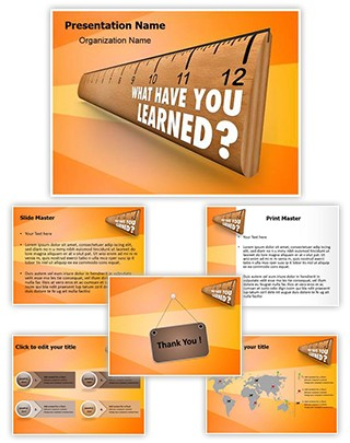 Lesson Editable PowerPoint Template