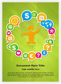Business Event Management Editable Word Template