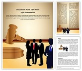 Business Law Editable Word Template