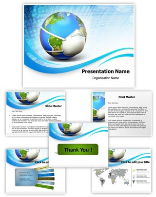 Pandemic Influenza Editable PowerPoint Template
