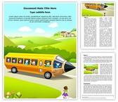 Children School Education Editable Word Template