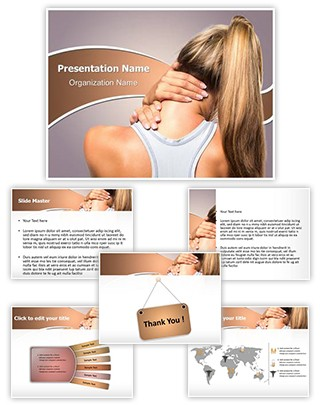 Neck Injury Editable PowerPoint Template