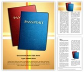 Citizenship Passports Editable Word Template