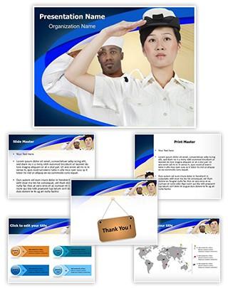 Navy Editable PowerPoint Template