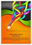 Colorful Pencil Art