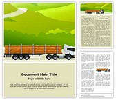 Commercial Logging Truck