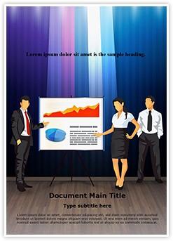 Corporate Presentation Teamwork Editable Word Template
