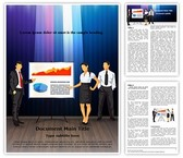 Corporate Presentation Teamwork Editable Word Template