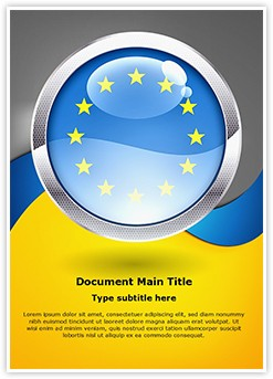 European Union Editable Word Template