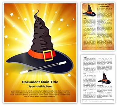 Fairytale Magic Editable Word Document Template