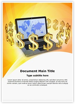 Online Business Editable Word Template