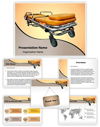 Stretcher Editable PowerPoint Template
