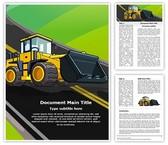 JCB Truck Editable Word Template
