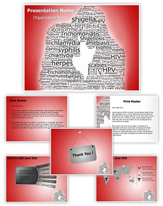 Sexually Transmitted Diseases Editable PowerPoint Template