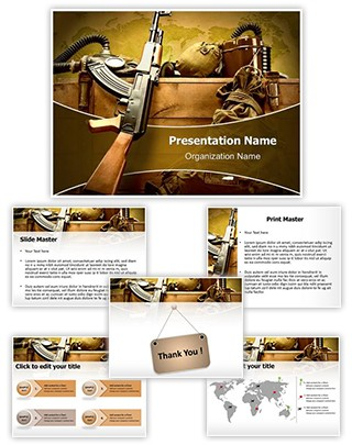Weapons Editable PowerPoint Template