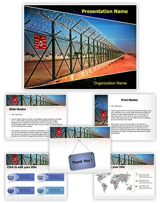 Border Security Editable PowerPoint Template