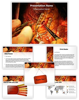Bypass Surgery Editable PowerPoint Template