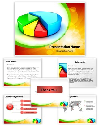 Pie Chart Editable PowerPoint Template