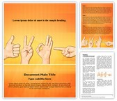 Multitouch Gestures Template
