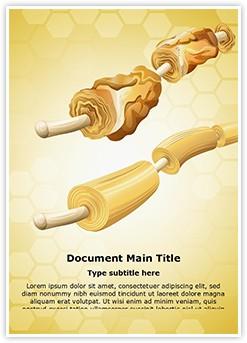 Myelin Sheaths Editable Word Template